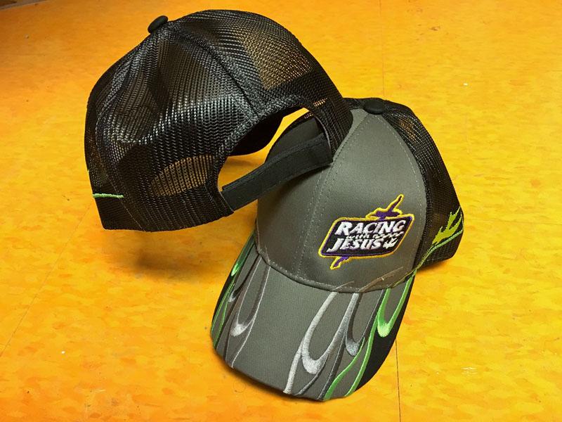 black-green-hat