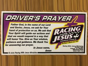 THE DRIVER'S PRAYER
