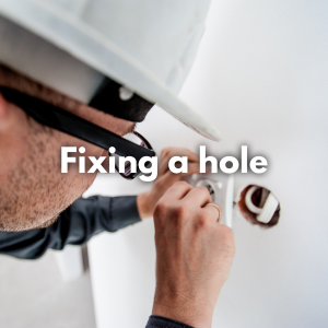 Fixing a Hole